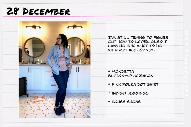 Outfit of the day December 28. #OOTD #NotAFashionBlogger #WhatIWore #ootdshare #mondetta