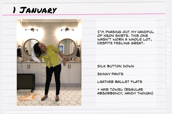 Outfit of the day January 1. #OOTD #WhatIWore #ootdshare #AnnTaylorSilk