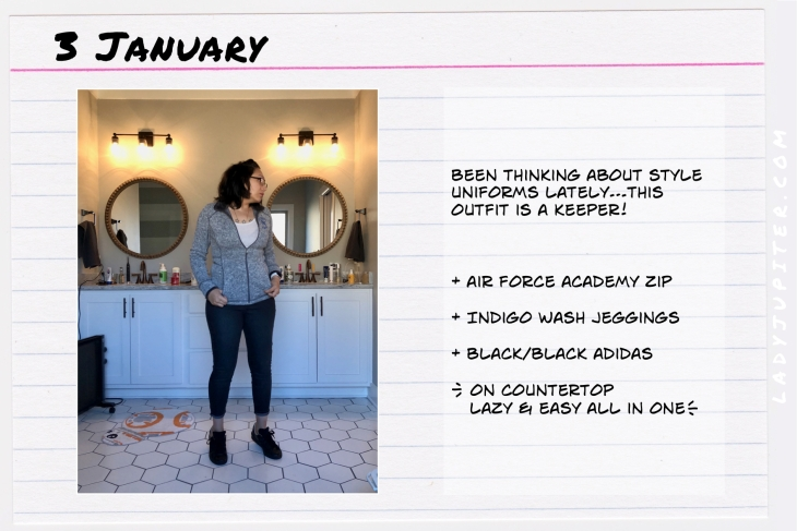Outfit of the day January 3. #OOTD #WhatIWore #ootdshare #USAFAsupporter