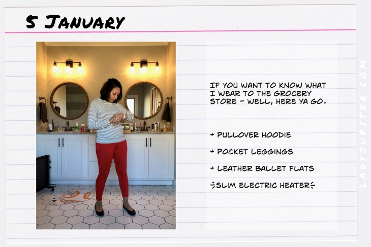 Outfit of the day January 5. #OOTD #WhatIWore #ootdshare #AerieLeggings