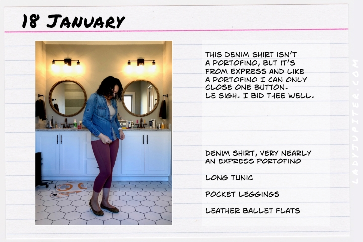 Outfit of the day January 18. #OOTD #WhatIWore #ootdshare #Denim