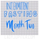 Time to share my experience with intermittent fasting as it happens! I'm shedding excess fluff and feeling great. #IF #cleanfasting #fasting