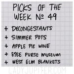 Picks of the Week, № 49. #FiveFaves #PicksoftheWeek