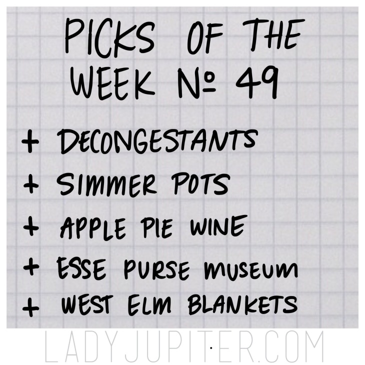 Picks of the Week, № 49. #FiveFaves #PicksoftheWeek