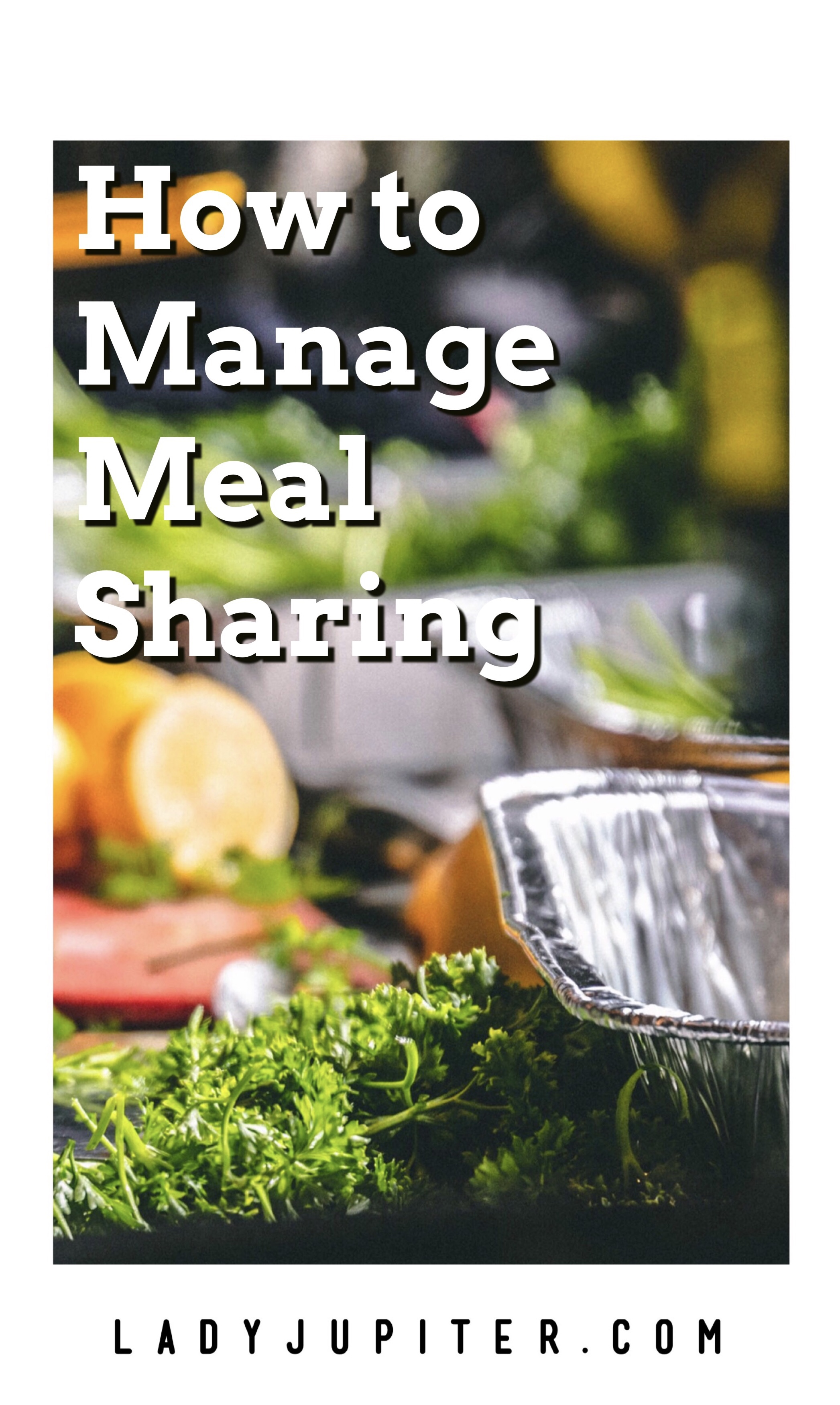 How to manage meal sharing. Planning menus, and keeping your car clean! #potlucks #mealtrains #planning