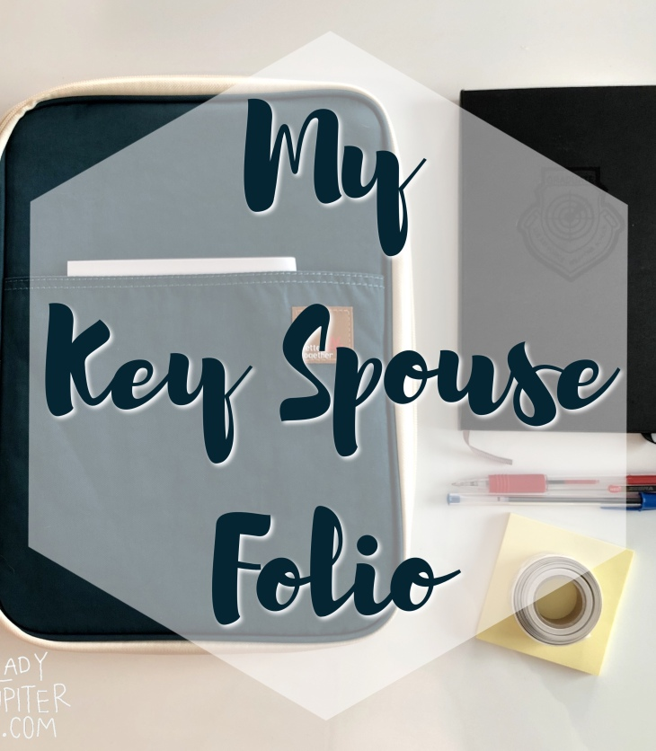 How I organize my Key Spouse folio. Handy for anyone who wants to use a Moleskine for info that changes often. #moleskine #journal #keyspouse #milblogger