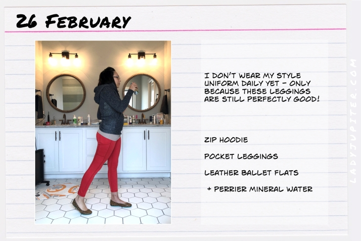 Outfit of the day February 26. #OOTD #dailyoutfit #fasting #35F