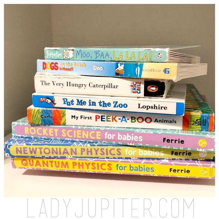 Board books are the best! We have several in each room, these are a few favorites. #boardbooks #toddler #reading