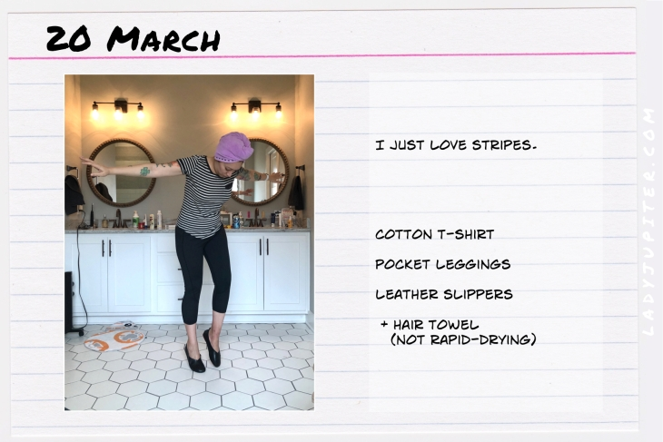 Outfit of the day March 20. #OOTD #dailyoutfit #socialdistancing