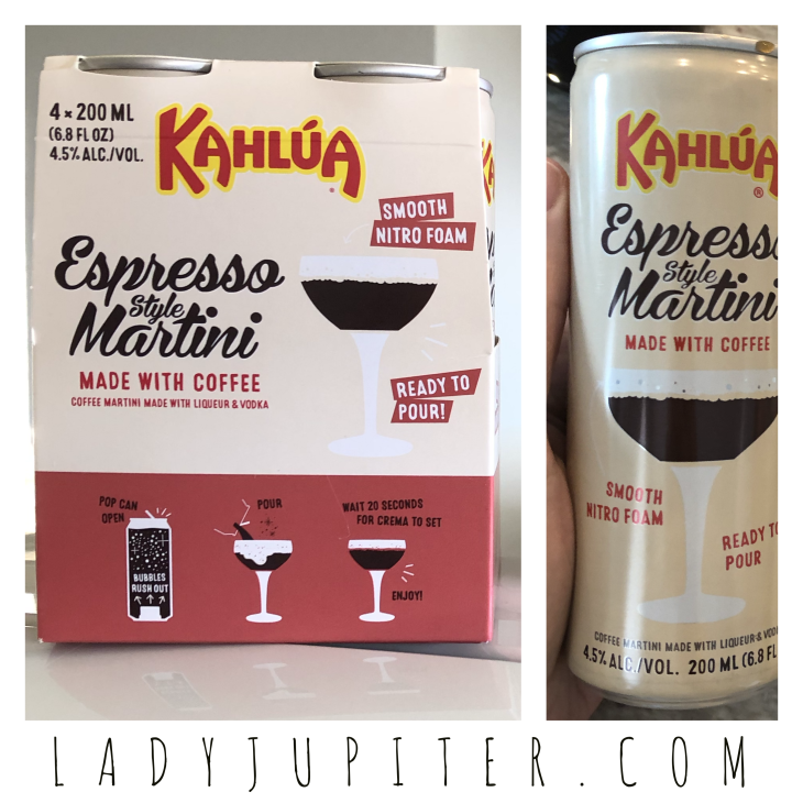 My favorite drink this quarantine - Kahlúa Espresso Martini