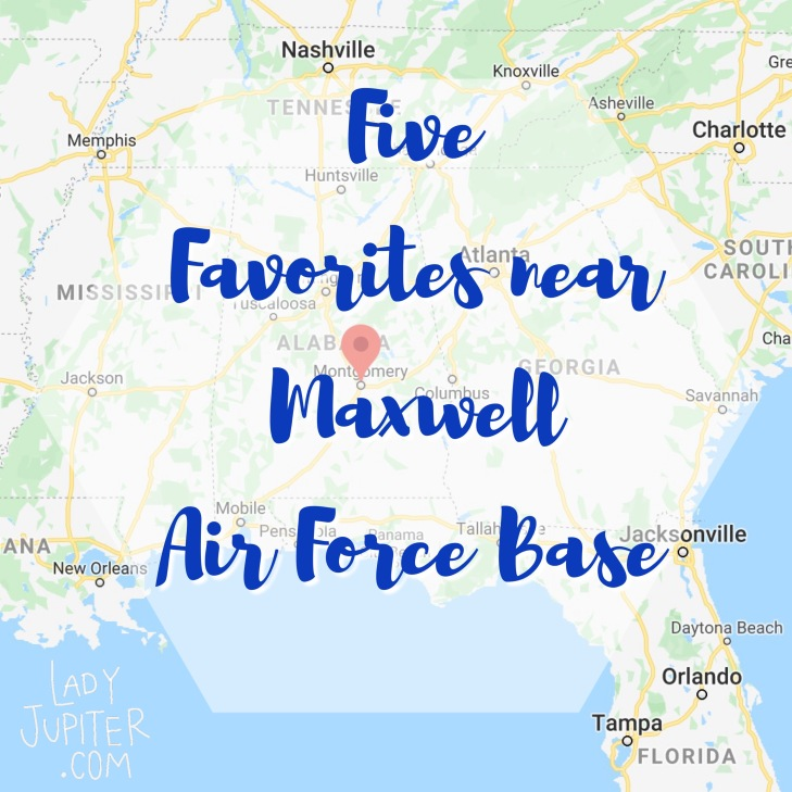 Writing today about some Montgomery, Alabama favorites that we found when stationed at Maxwell Air Force Base. #mafb #mgm #maxwellAFB