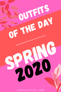 Outfits of the Day #OOTD #OOTDshare #spring #shelterinplace #allergies