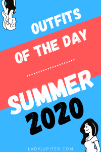 Outfits of the Day #OOTD #OOTDshare #summer #PandemicLife #over30