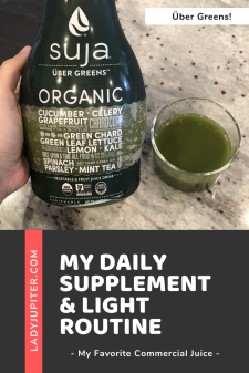 Sharing my daily supplement & light routines! It's so much more than taking a multivitamin. Come see my favorites as a low level biohacking SAHM. #biohacking #selfoptimizing #antiaging #vitamins