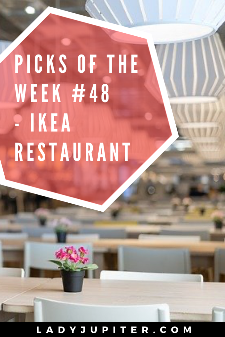 Picks of the Week, № 48 #FiveFaves #IKEA #traveling