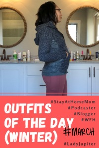 Winter 2019 Outfits of the Day. Some outfits before I started to lose the baby weight #SAHM #podcaster #blogger #ladyjupiter
