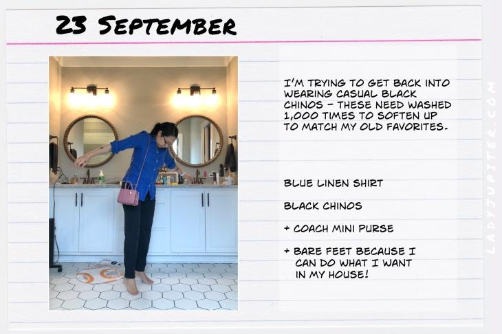 Outfits of the Day September 23. #OOTD #summer #September #RalphLauren