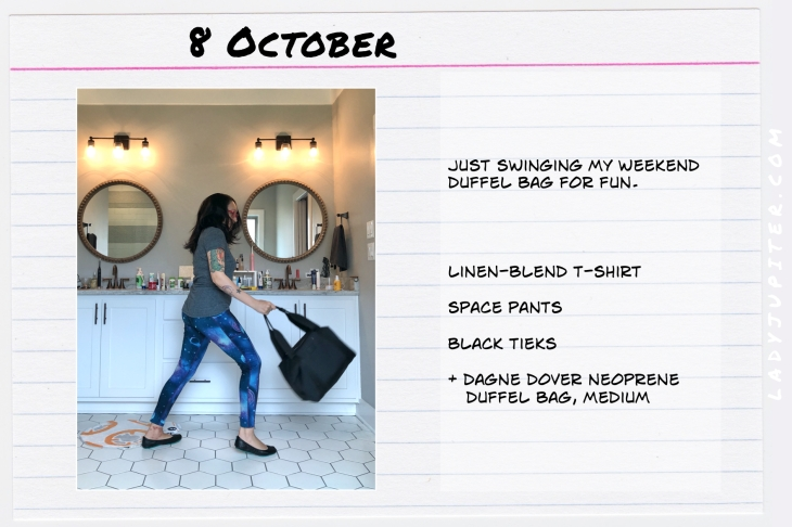 Outfits of the Day October 8. #OOTD #October #MomOutfits #LadyJupiter #DagneDover