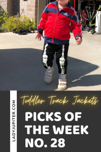 Picks of the Week, № 28 focuses on the little things at home that make me happy. This matters when we're home so much more than we planned! #picksoftheweek #ladyjupiter #food #naps #trackjackets