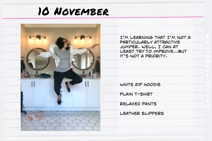 Outfits of the Day November 10. #OOTD #November #MomOutfits #LadyJupiter