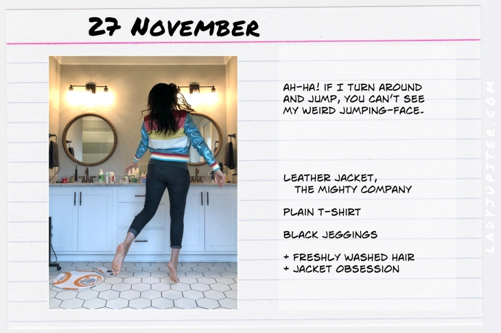 Outfits of the Day November 27. #OOTD #November #MomOutfits #LadyJupiter #TheMightyCompany #DoverJacket