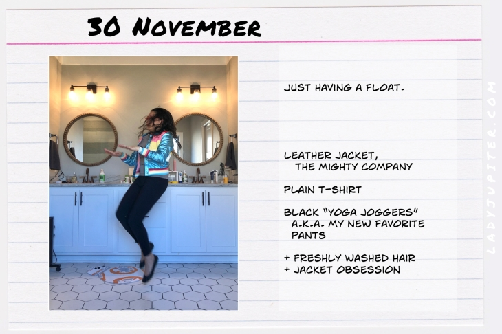 Outfits of the Day November 30. #OOTD #November #MomOutfits #LadyJupiter #TheMightyCompany #DoverJacket