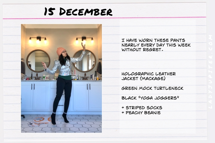 Outfits of the Day December. #OOTD #December #MomOutfits #LadyJupiter #MackageLeather