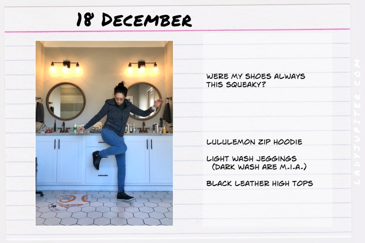 Outfits of the Day December. #OOTD #December #MomOutfits #LadyJupiter #Lululemon