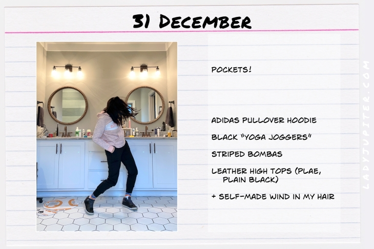 Winter Outfits of the Day. #OOTD #December #MomOutfits #LadyJupiter #Bombas #hoodieoutfit