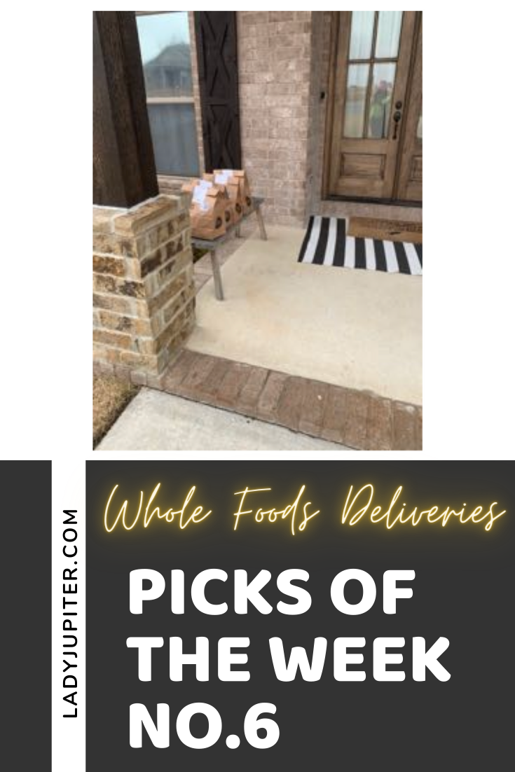 Picks of the Week, №6! This week's MVPs include bubbles for no reason, my tiny diary and casual to-do list, plus a favorite podcast and a shout out to home grocery deliveries. #picksoftheweek #ladyjupiter #groceries #WholeFoodsMarket