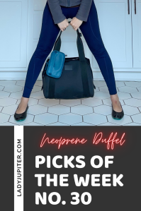 Picks of the Week, № 30. Quick chat about travel picks that I can't wait to use out of the house. Until then, these are great at home too! #LadyJupiter #picksoftheweek