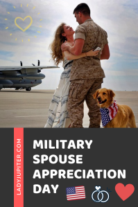 Military Spouse Appreciation Day is the Friday before Mothers Day. I'll request my usual bottle of Champagne from the Class Six. Cheers 🥂to another successful year of being married to the Armed Forces! #LadyJupiter #MilitarySpouse #AFspouse #AviationSpouse #MilitarySpouseAppreciationDay
