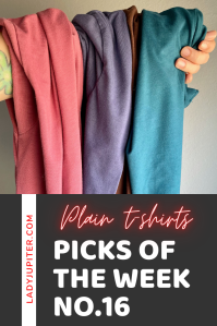 Week №16! Today I'm talking about plain t-shirts, infused olive oils, mineral water, Huel, and laundry detergent sheets that are perfect for those long work trips.