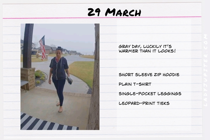 Spring Outfits of the Day. #OOTD #March #MomOutfits #LadyJupiter #LeopardTieks