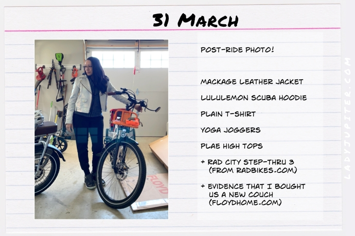 Spring Outfits of the Day. #OOTD #March #MomOutfits #LadyJupiter #Mackage
