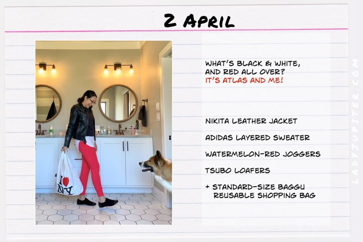 Spring Outfits of the Day. #OOTD #April #MomOutfits #LadyJupiter #Baggu