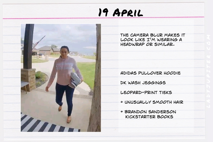 Spring Outfits of the Day. #OOTD #April #MomOutfits #LadyJupiter #Kickstarter