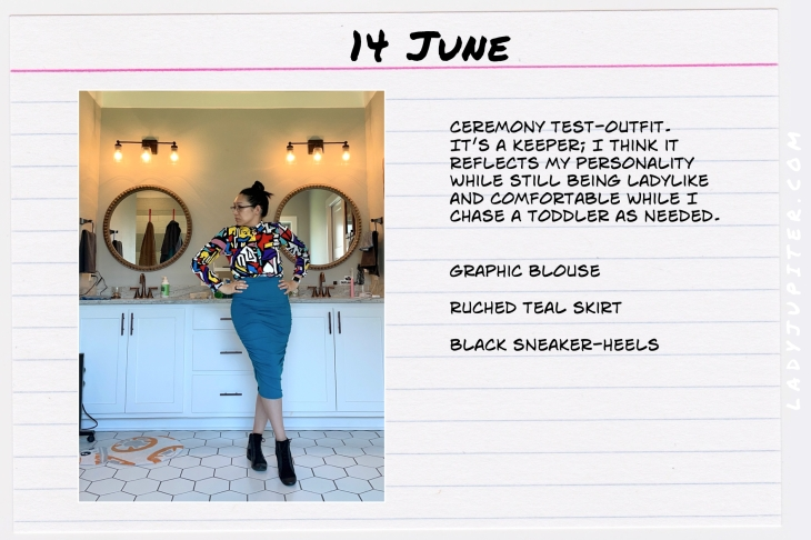 Spring Outfits of the Day. #OOTD #June #MomOutfits #LadyJupiter #BusinessCasual