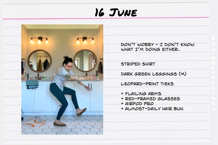 Spring Outfits of the Day. #OOTD #June #MomOutfits #LadyJupiter #LeggingsOutfit
