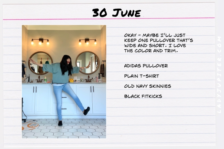 Summer Outfits of the Day. #OOTD #June #MomOutfits #LadyJupiter #adidasStandard19