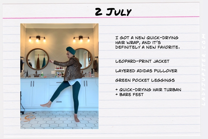 Summer Outfits of the Day. #OOTD #July #MomOutfits #LadyJupiter #VedaJacket