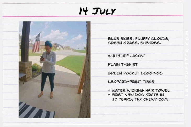 Summer Outfits of the Day. #OOTD #July #MomOutfits #LadyJupiter #Americana