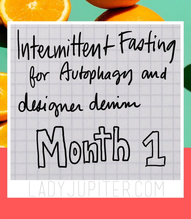 My very first month of intentional intermittent fasting is complete! Here's my experience. #LadyJupiter #fasting #itsalifesyle #notadiet