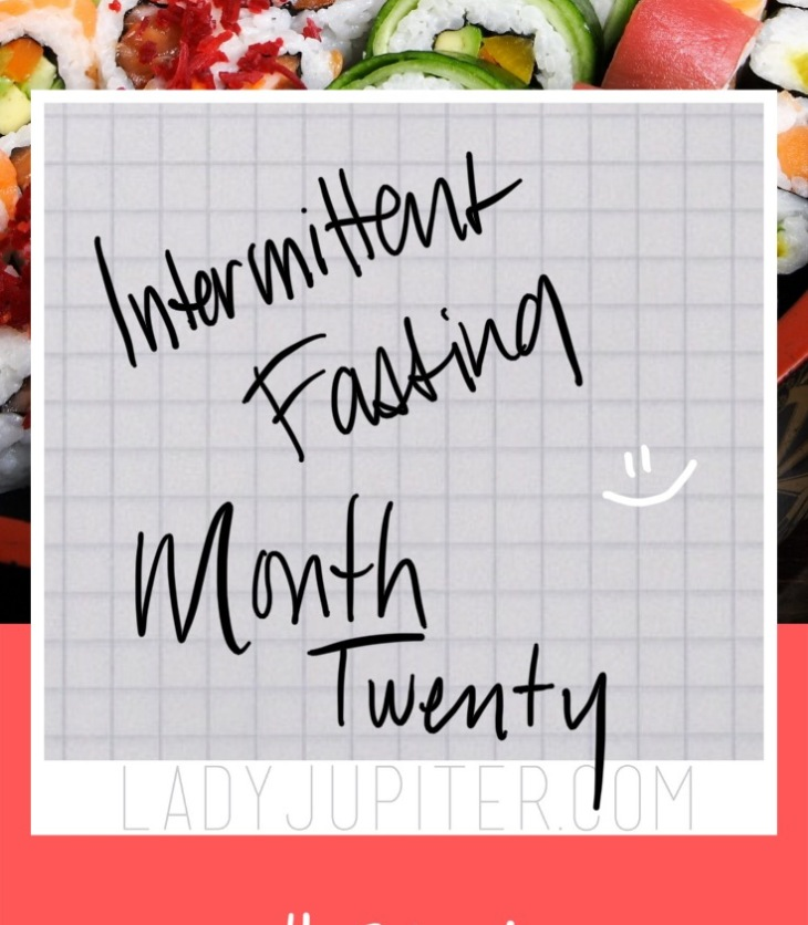 Twenty months into my intermittent fasting lifestyle! I have updates about the past nine months, and I share my ambiguous plan forward. #LadyJupiter #fasting #IFlifestyle