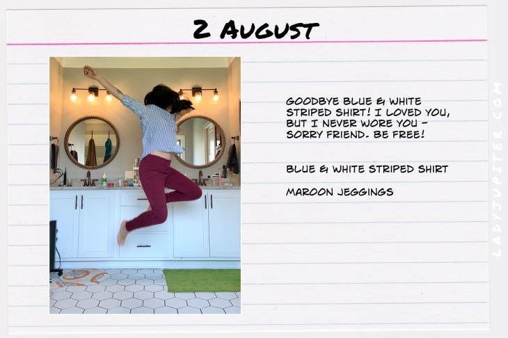 Summer Outfits of the Day. #OOTD #August #MomOutfits #LadyJupiter #jeggings