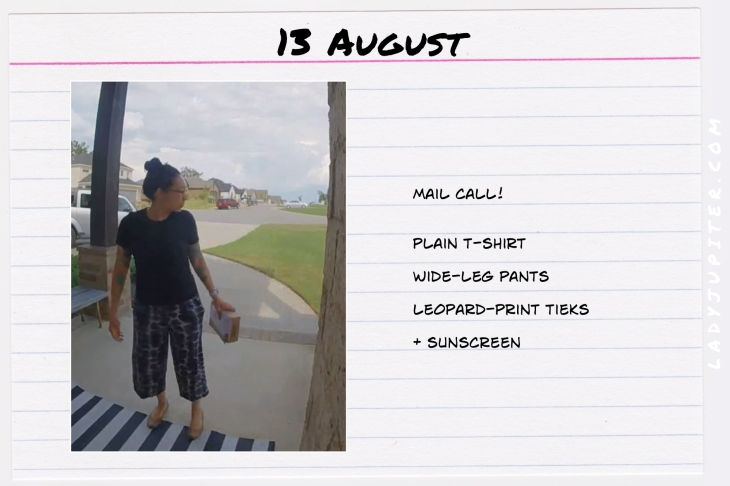 Summer Outfits of the Day. #OOTD #August #MomOutfits #LadyJupiter #SuburbanLife