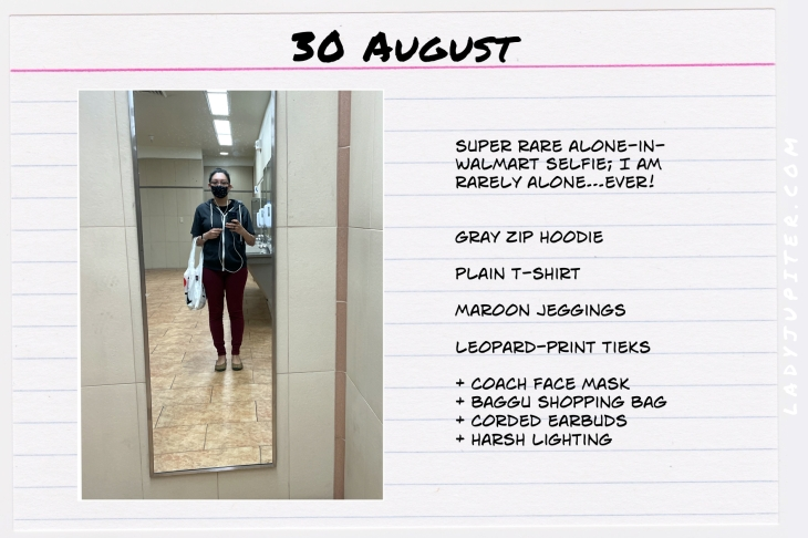 Summer Outfits of the Day. #OOTD #August #MomOutfits #LadyJupiter #Baggu