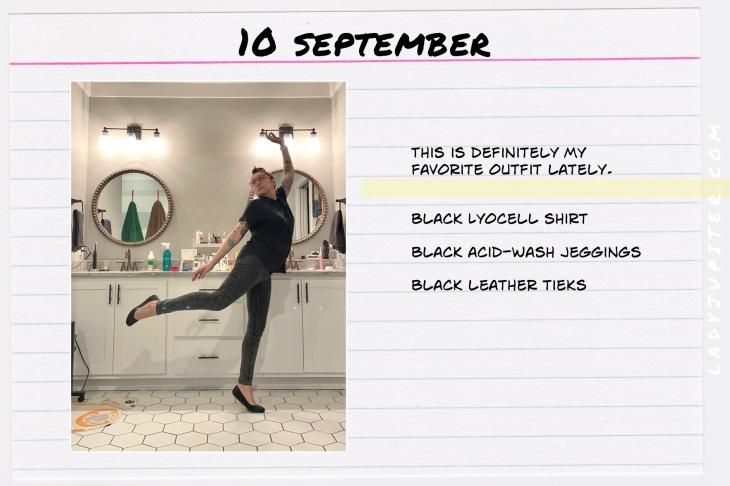 Outfits of the Day, September! #OOTD #September #MomOutfits #LadyJupiter #AllBlack