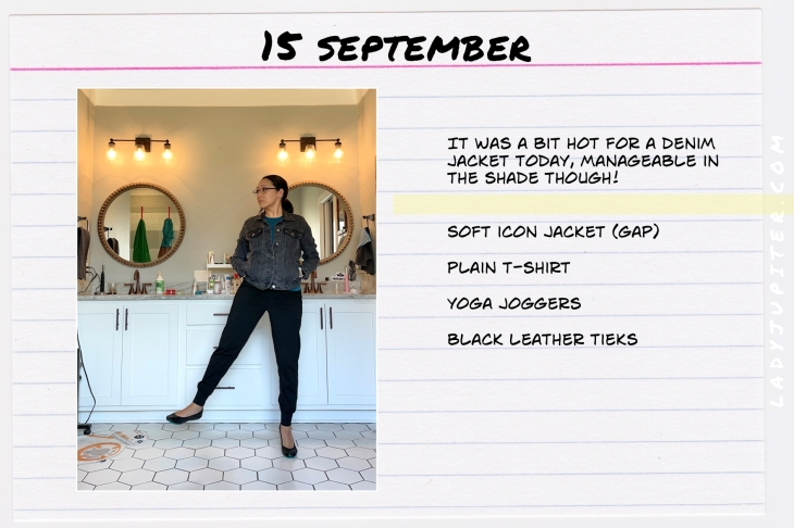 Outfits of the Day, September! #OOTD #September #MomOutfits #LadyJupiter #GAP