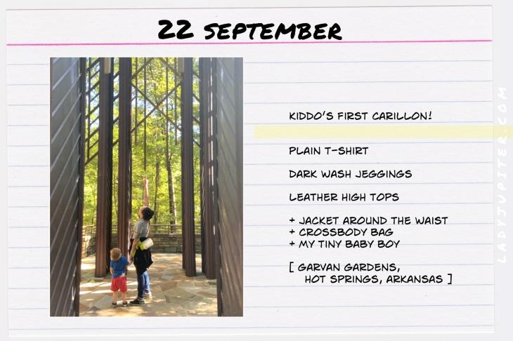 Outfits of the Day, September! #OOTD #September #MomOutfits #LadyJupiter #GarvanGardens
